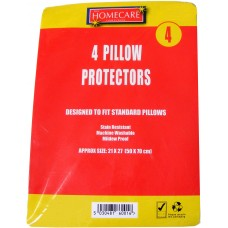 4 Pack of Pillow Protectors - Not Waterproof
