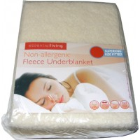 SuperKing Size Fitted Thermal Fleece Underblanket Mattress Cover